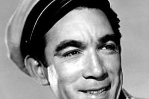 Anthony Quinn Death Cause and Date