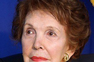 Nancy Reagan Death Cause and Date