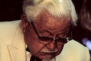 Colonel Sanders Death Cause and Date