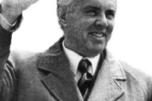Enver Hoxha Death Cause and Date