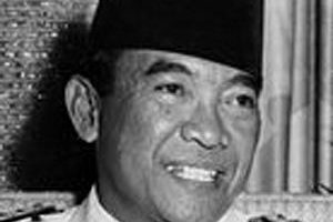 Sukarno Death Cause and Date